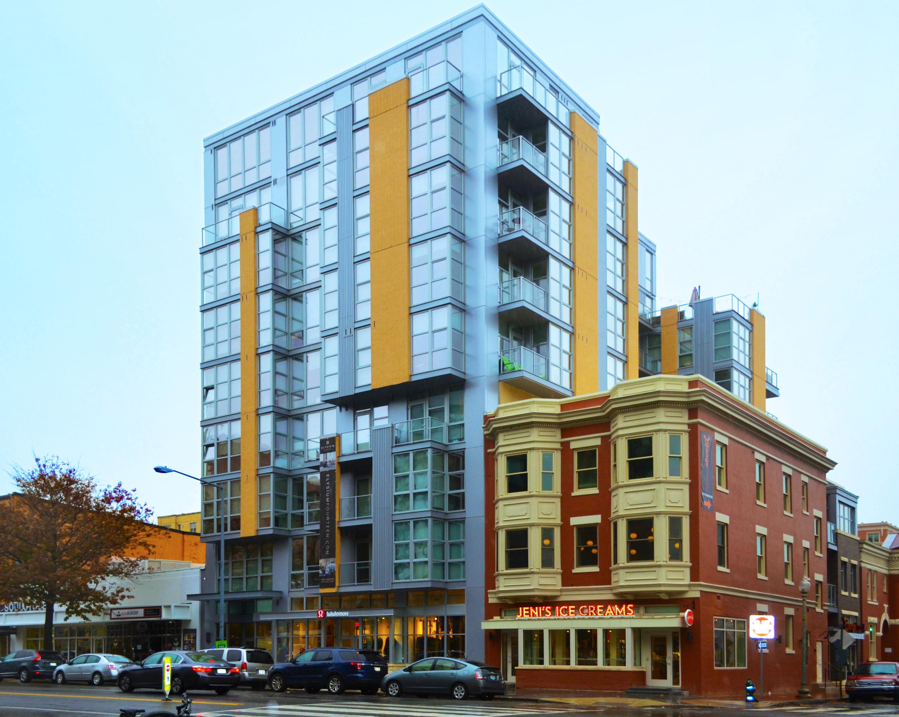 Elysium Fourteen INTUS Arcade steel reinforced triple pane polymer windows & balcony doors