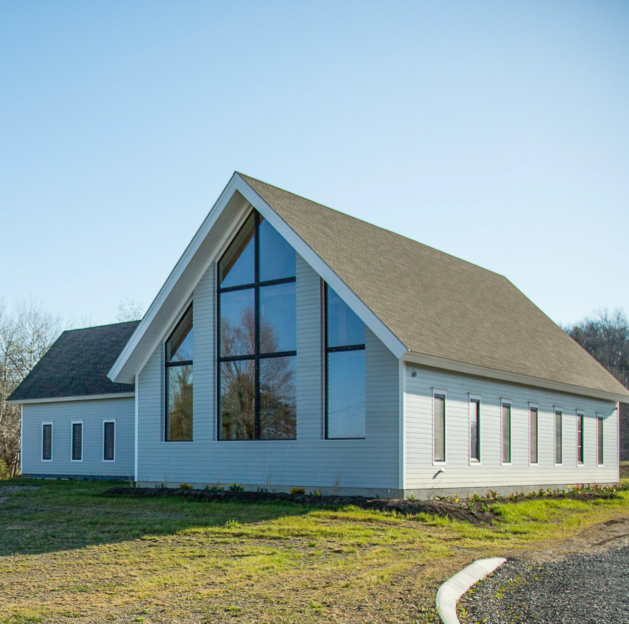 Seventh-day AdvenSeventh-day Adventist Church at Kinderhook with INTUS windows,  3rd Annual PHIUS Passive House Projects Competition Commercial Winnertist Church at Kinderhook with INTUS windows,  3rd Annual PHIUS Passive House Projects Competition Commercial Winner