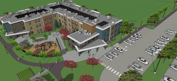 Village Centre layout