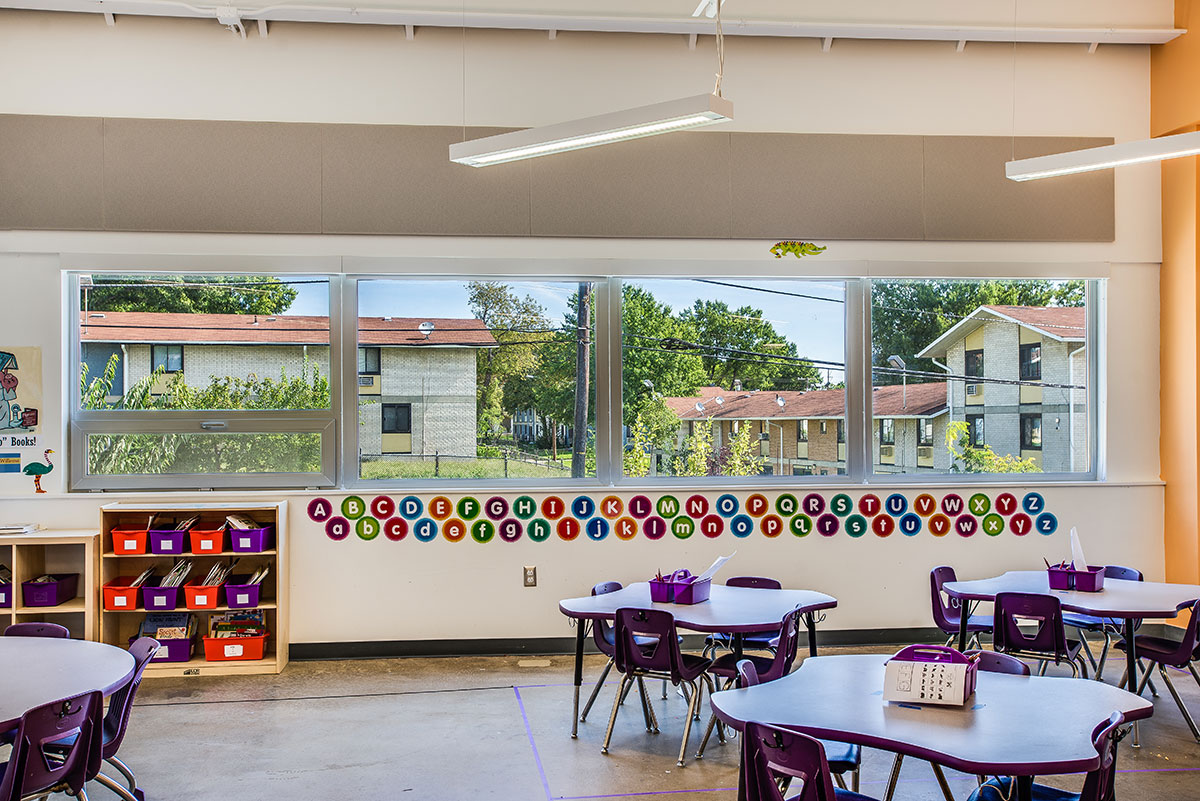 Rocketship Rise Academy - Elementary Charter School with INTUS Windows