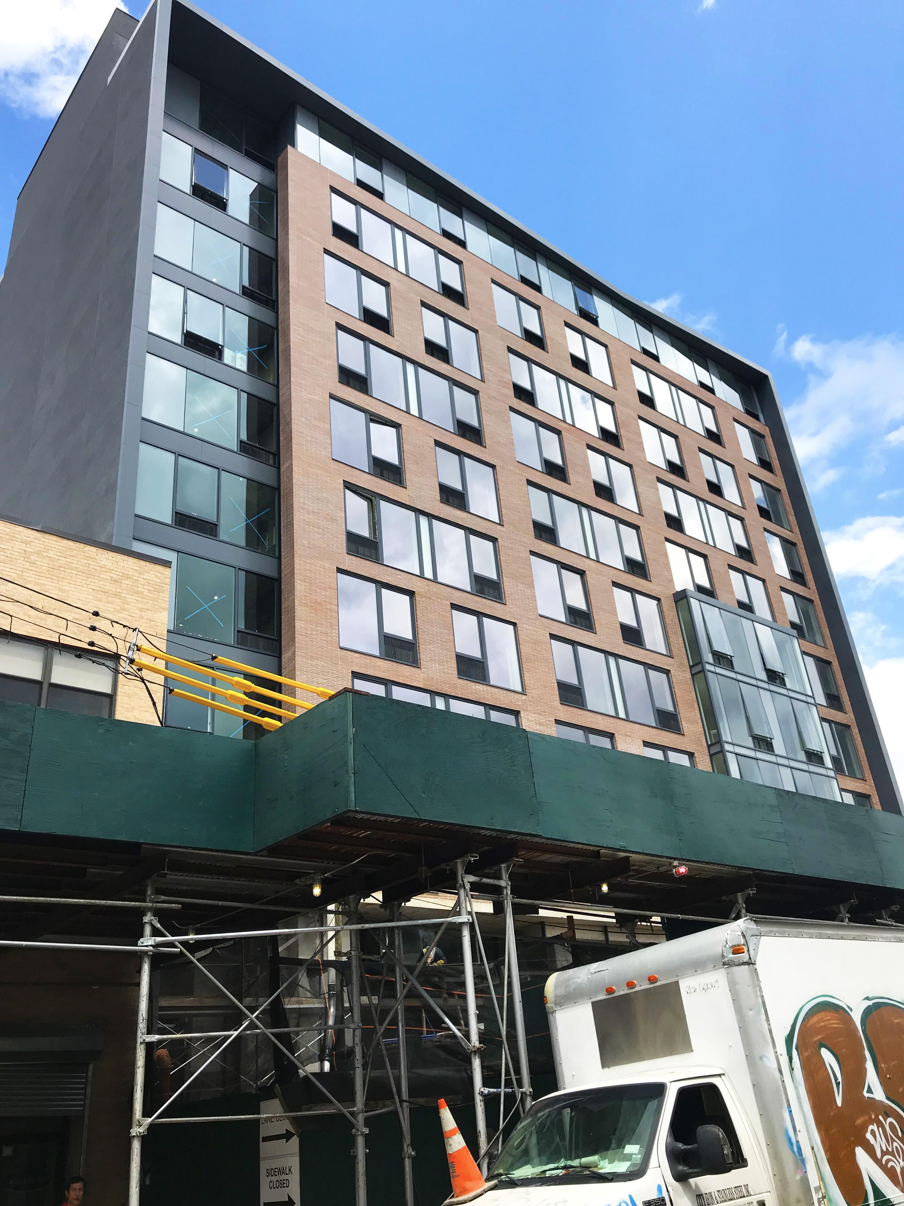 Marriott Long Island City Hotel in-progress