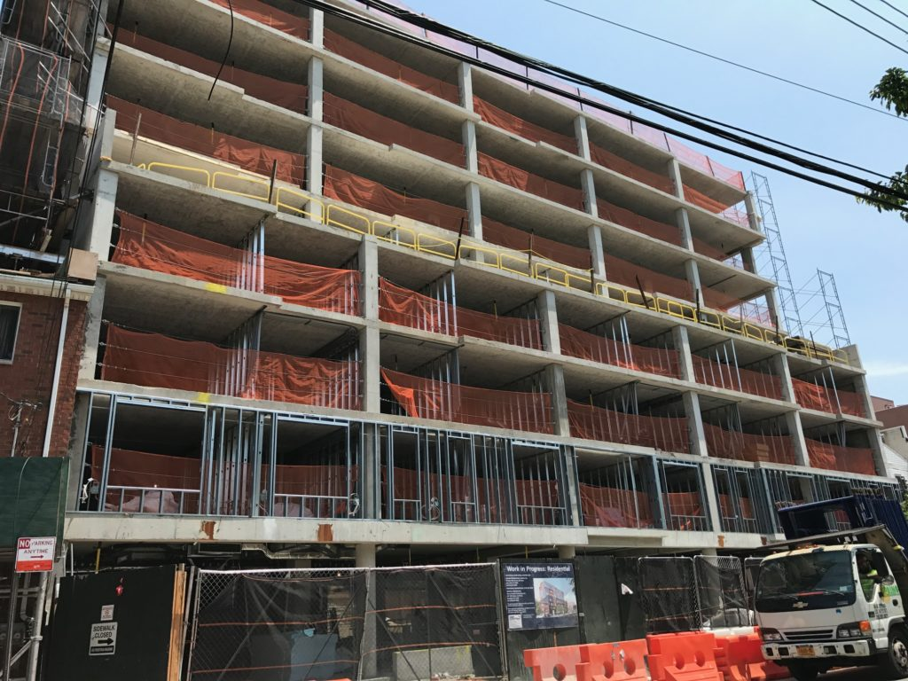 Hanac Corona Senior Residence in-progress
