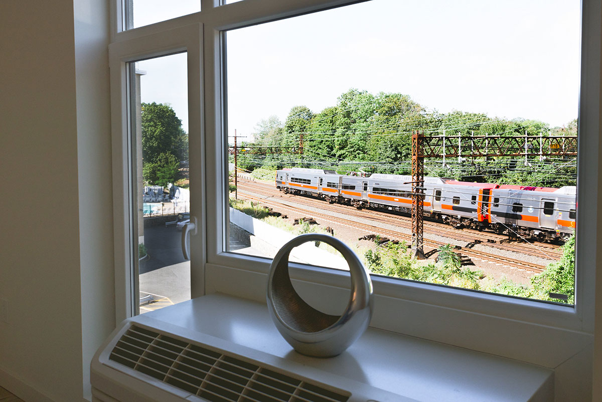 Wood Works Apartments with INTUS Windows