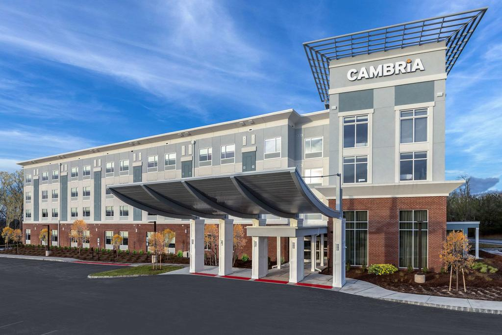 The rendering for Cambria Suites & Hotels in West Orange, NJ