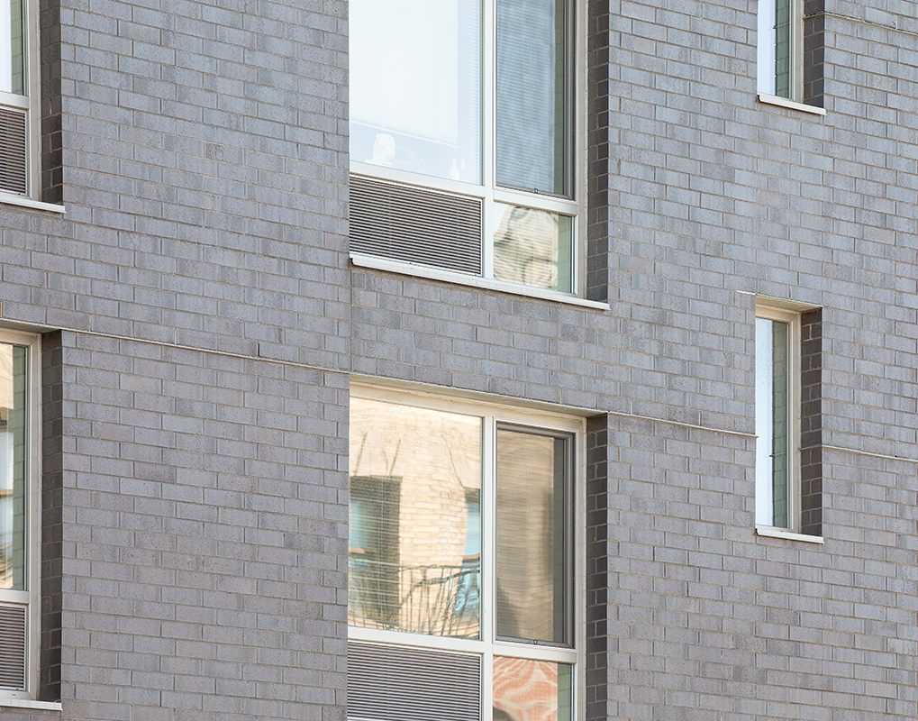 Webster Green Affordable & Supportive Housing Development with INTUS Windows