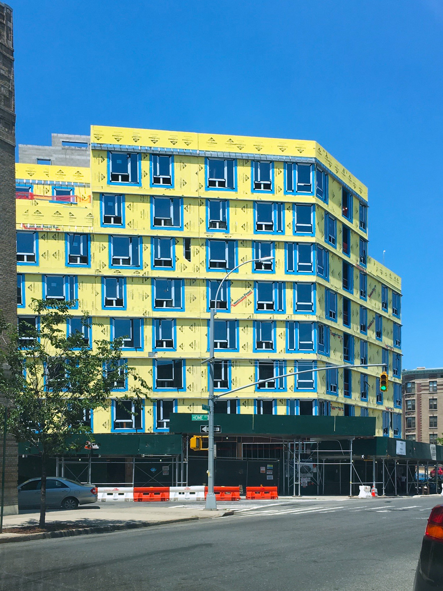 Home Street Residences in-progress with INTUS Windows